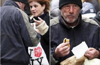 """Karine Valnais Gombeau confunde a Richard Gere con un """"sin techo"""" en Nueva York"""