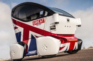 LUTZ Pathfinder: Coches sin conductor se prueban por primera vez en el Reino Unido