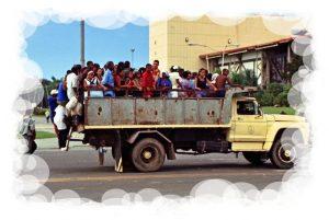 cuba - transporte público