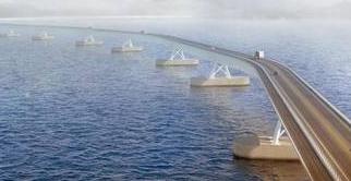 Noruega planea puente flotante en el Fiordo de Sogn