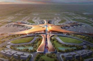 China construye la terminal de aeropuerto más grande del mundo