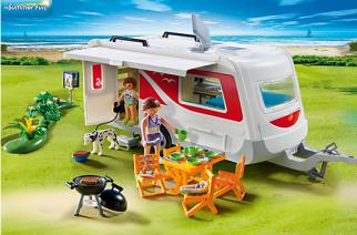 Novedades de Playmobil: Caravana