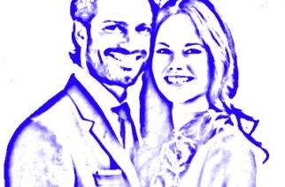 Sofia Hellqvist y Carl Philip aclamados en EE.UU.