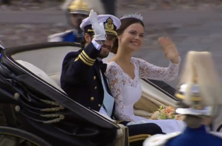 Sigue la boda real de Carl Philip y Sofia Hellqvist