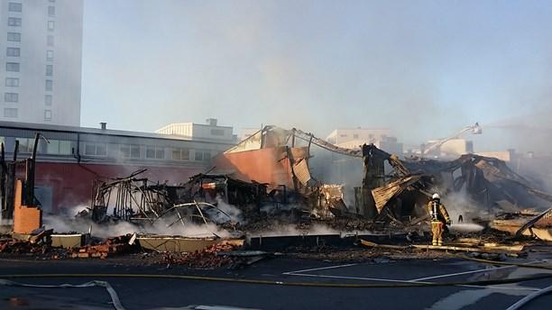Brand Hisingen 16 juli 2015
