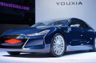 YOUXIA X – el coche eléctrico chino que desafiará al Tesla Model 3