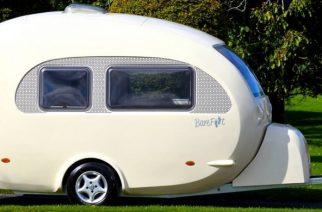 BAREFOOT, 'el huevo', la caravana más curvilínea del mundo