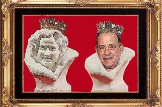 """Busto de la reina """"se parece a Tom Hanks"""""""
