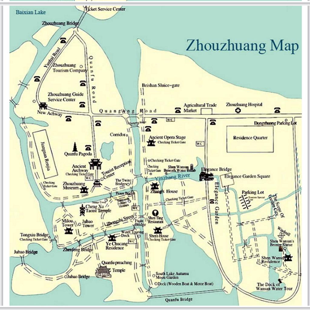 zhouzhuang_mapa