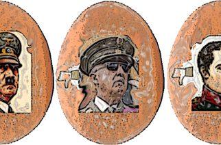 Hitler, Franco y Napoleón tenían solo un huevo