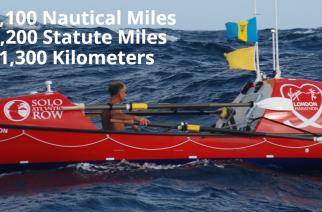 John Beeden atraviesa a remo el océano Pacífico en 209 días