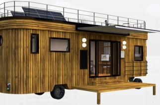 "WW Wohnwagon – ""Mini-casa"" sobre ruedas"