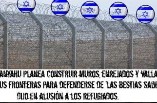 Israel planea construir vallas alrededor de todo el país