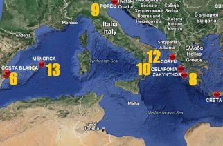 Los 13 destinos playeros más baratos de Europa