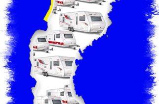 Suecia, el país de caravanas