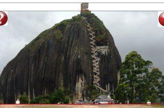 El Peñón de Guatapé o La Piedra del Peñol