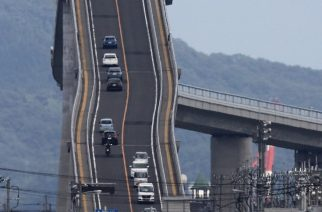 Eshima Ohashi – Puente de apariencia vertiginosa