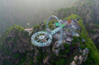 SHILINXIA: El mirador transparente más grande y vertiginoso del mundo