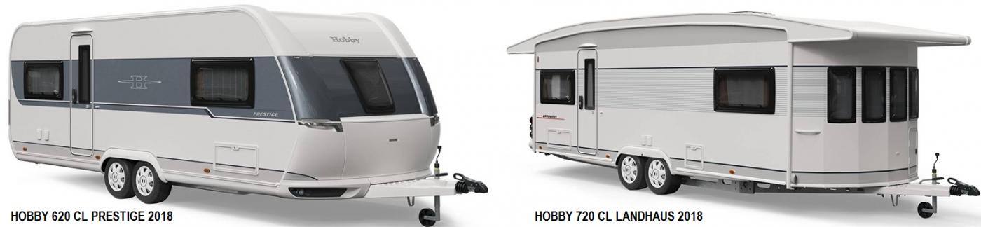 hobby campingvogn 2018