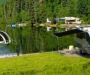 CARAVANBOAT DEPARTURE ONE: caravana-barco para tanto carretera como lago