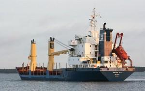 El buque Artic Sea