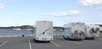 Áreas de pernocta en Suecia