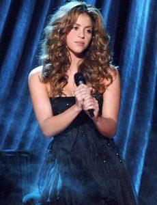 Shakira, la cantante de Barranquilla.