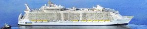 Oasis of the Seas, el mayor crucero del mundo.