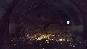Derrumbamiento en el túnel de Austmannali