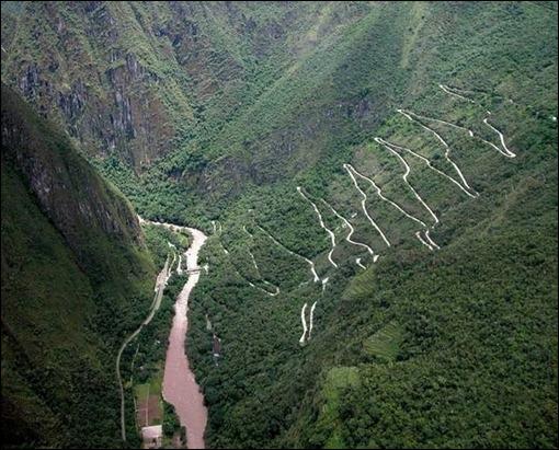 Aquas Calientes, at the base of Machu Picchu