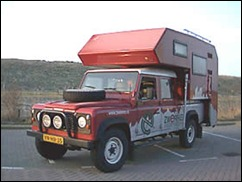 CAMPERS 4x4-landrover