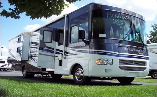 Holiday Rambler Arista 34SBD Bunk House Class A Gas RV