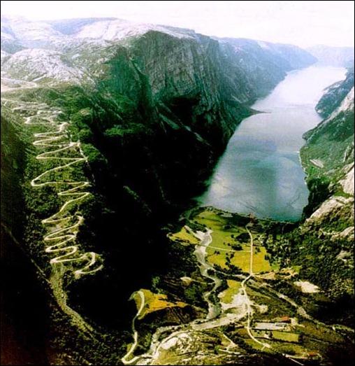 Lysebotn Road, Norway
