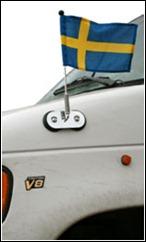 bilflaggstang