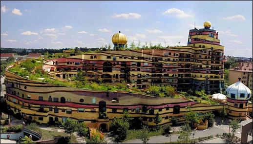 Hundertwasser Building - Germany