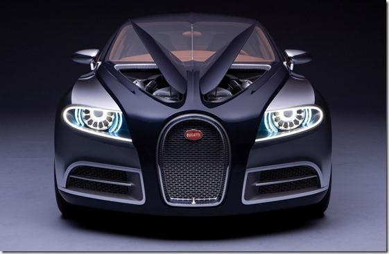 Bugatti 16 C Galibier concept hood
