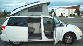 GTRV Toyota Sienna Pop-Top Conversion