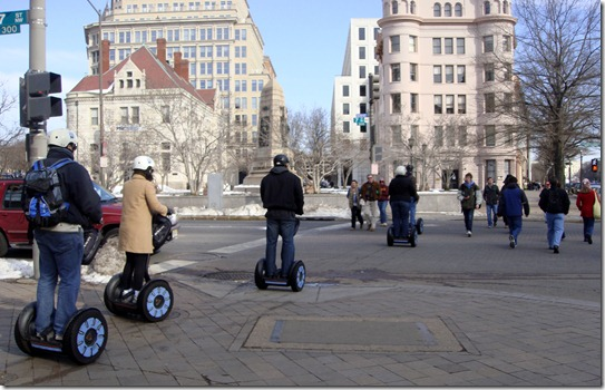 Segway tour at Washington DC