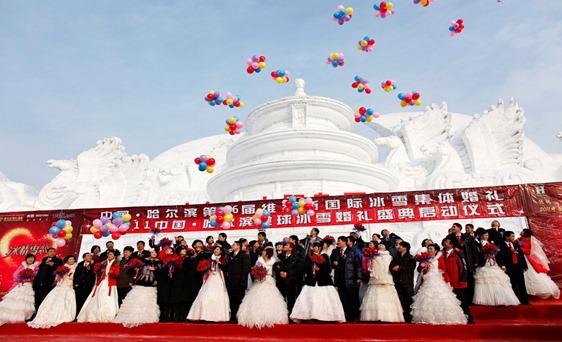 china bodas hielo