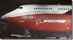 B 747-8 INT