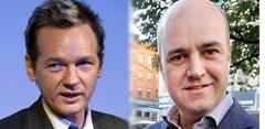 Julian Assange Fredrik Reinfeldt