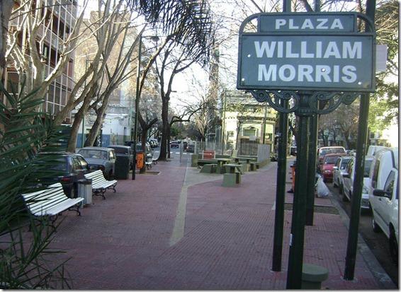plaza William Morris palermo