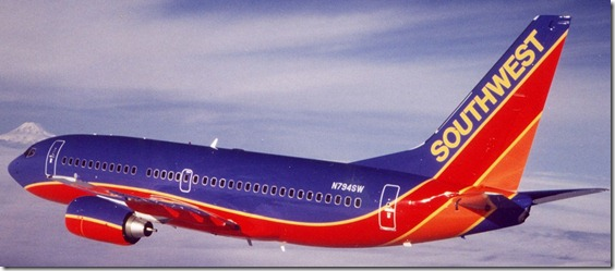 SOUTHWEST AIRLINES 737