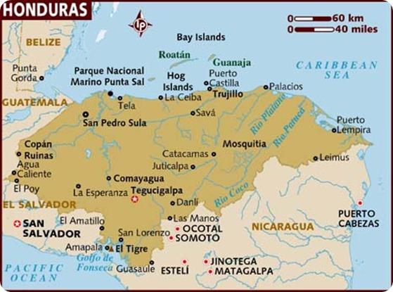 map_of_honduras