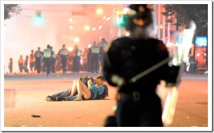 beso en Vancouver
