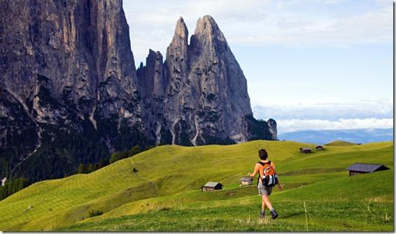 caminando Dolomitas