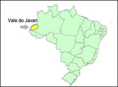 mapa vale do javari