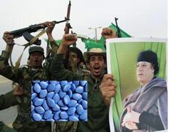 Gaddafi soldados