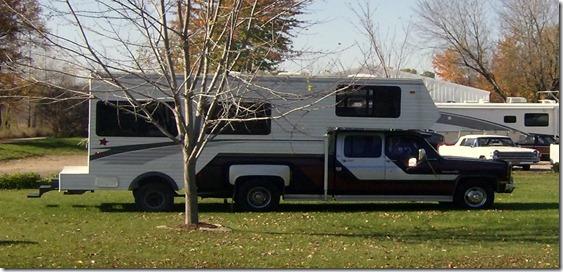 Stretch Truck Camper