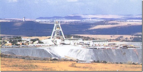 Driefontein Gold Mine, South Africa